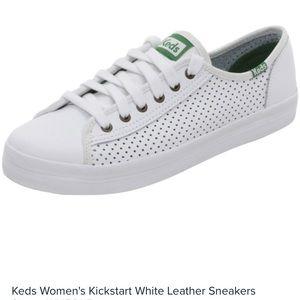 Keds- Kickstart Leather Sneaker. Size 7.0
